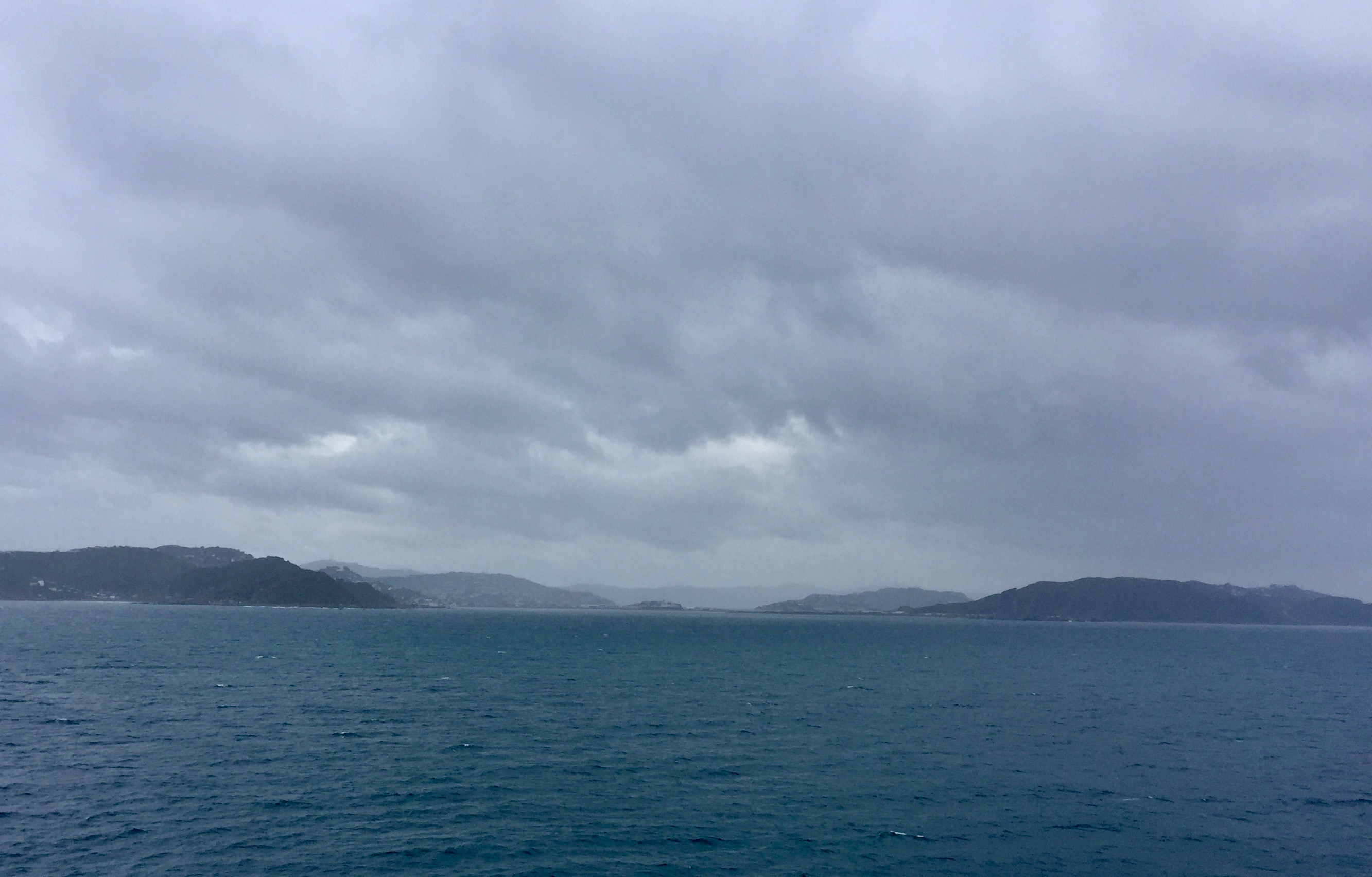 From the ferry.