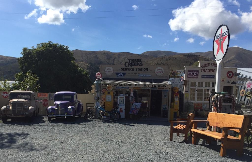 Three Creeks service station