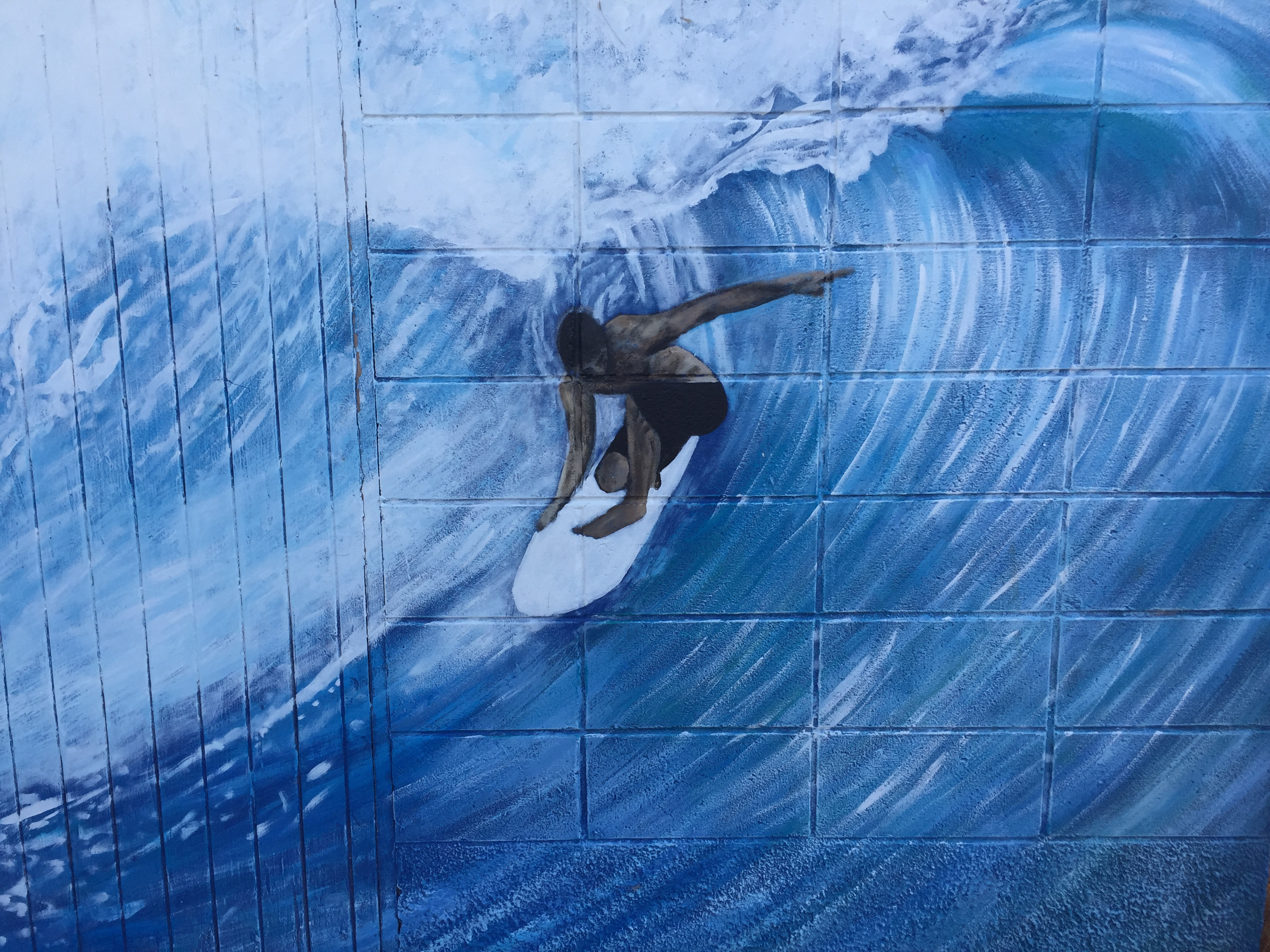 Mural at St. Kilda Surf Club