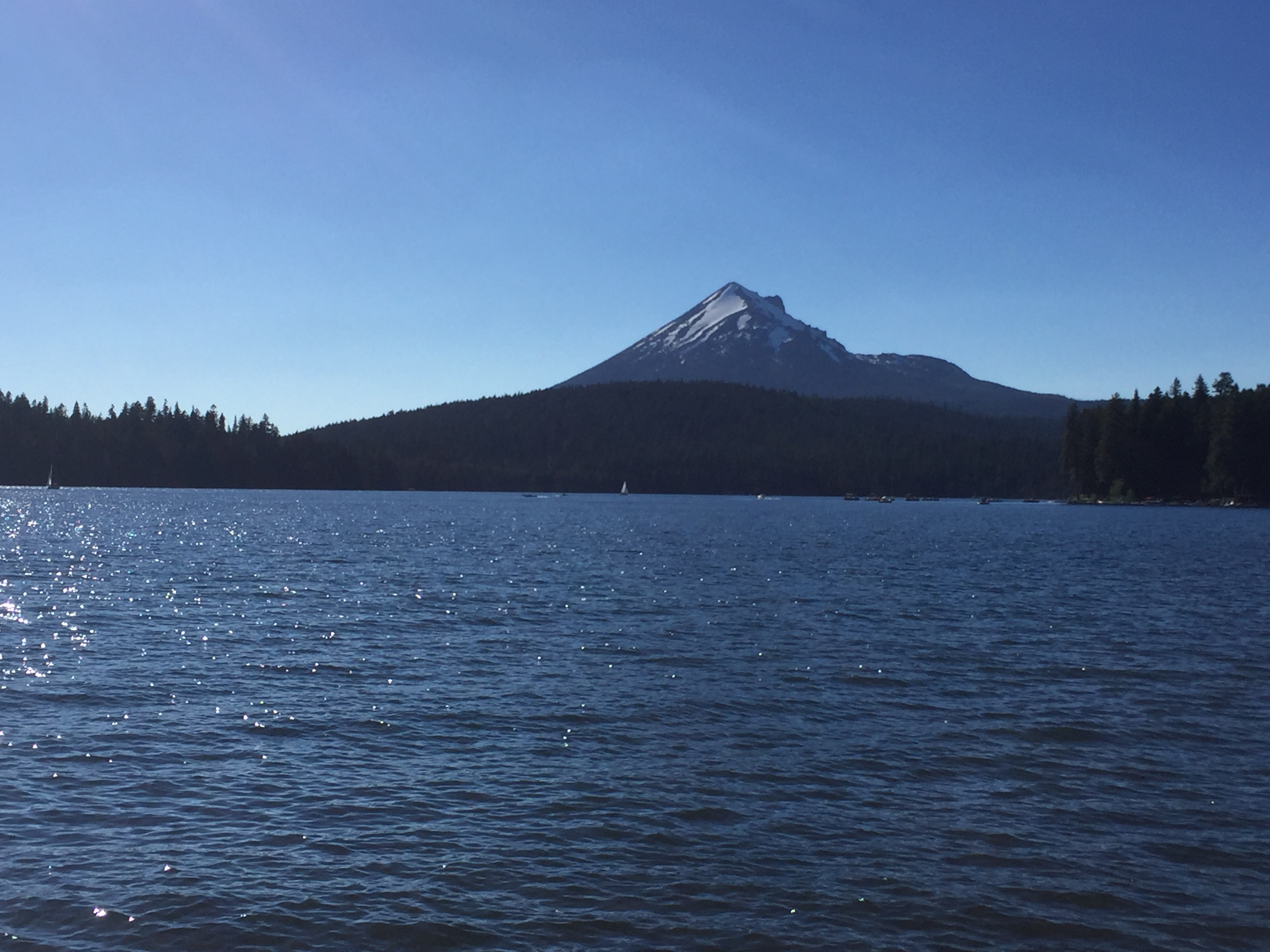 Mt. McLaughlin from Lake of the Woods
