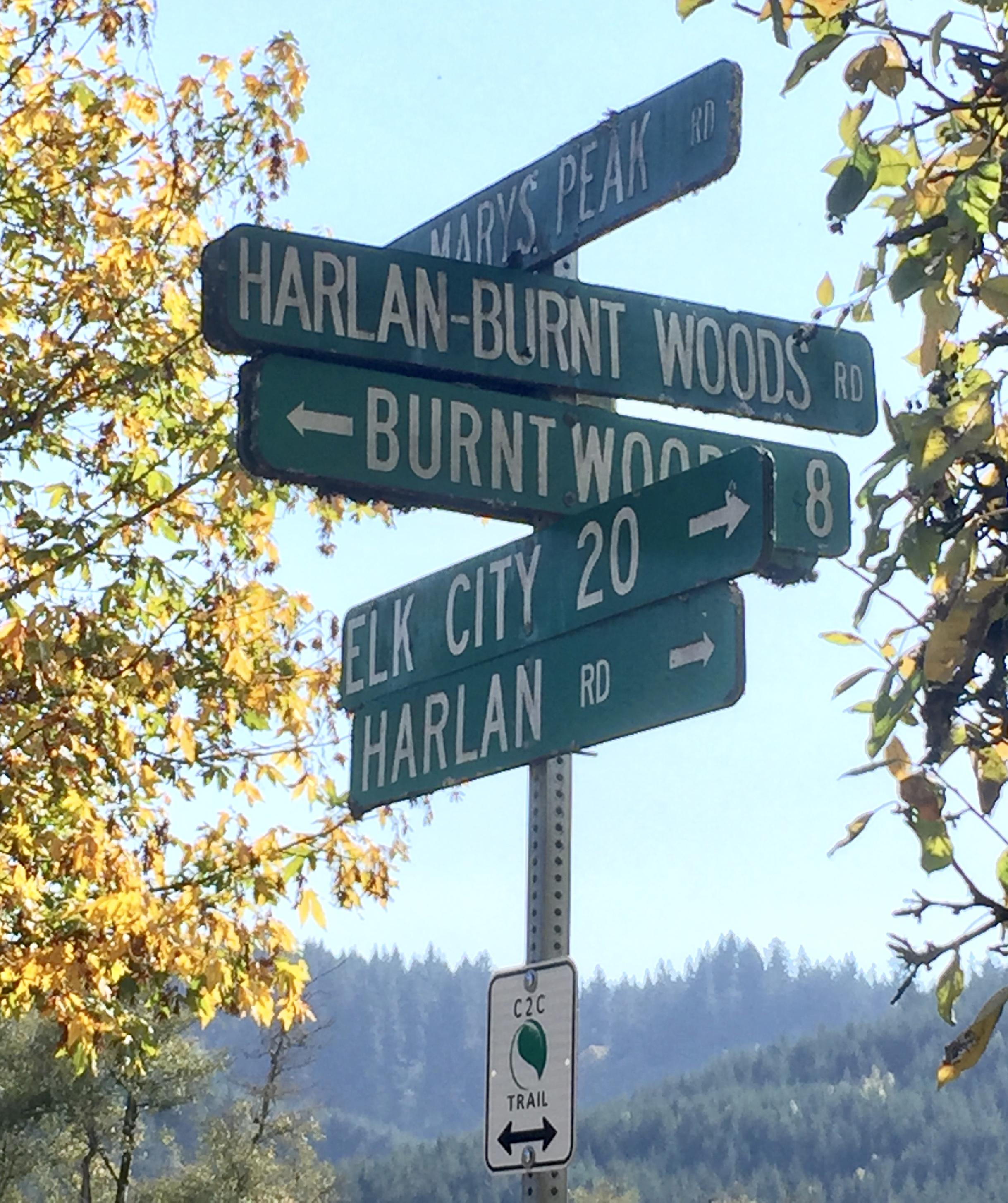 Harlan crossroads
